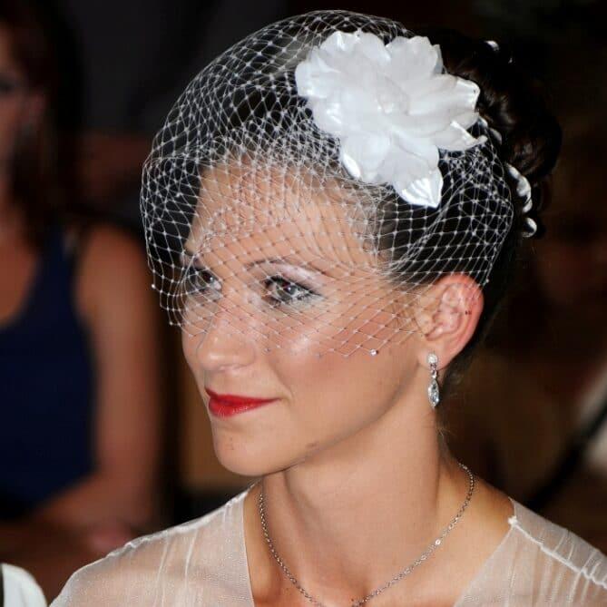 Braut mit Makeup